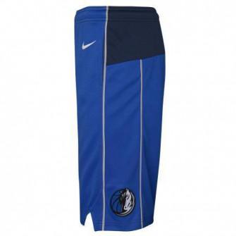 Nike NBA Dallas Mavericks Icon Edition 2020 Swingman Kids Shorts ''Blue''