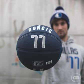 Košarkarska žoga Spaldnig NBA Luka Dončič Dallas Mavericks