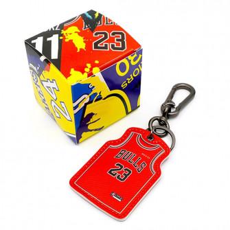 NBA Chicago Bulls Michael Jordan Jersey Keychain ''Red''