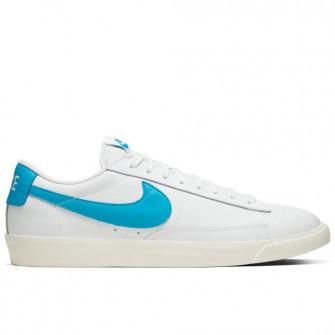 Nike Blazer Low Leather ''White/Laser Blue''