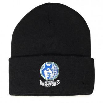 Zimska kapa M&N Team Logo Minessota Timberwolves Cuff Knit ''Black''