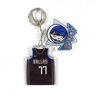 NBA Dallas Mavericks Luka Dončić Keychain ''Blue''