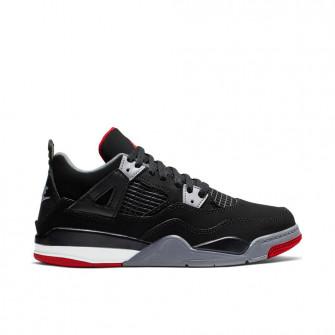 Boy's Air Jordan Retro 4 ''Bred'' (PS)