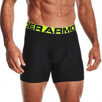 UA TechTM Boxerjock Underwear 2-Pack ''Black/Pink Shock''