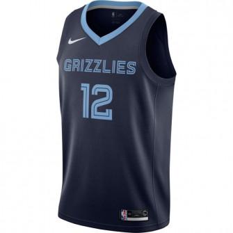 Nike Ja Morant Grizzlies Icon Edition Swingman Jersey ''College Navy''