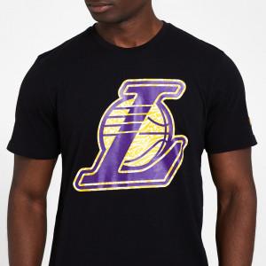 New Era Infill Logo Los Angeles Lakers T-Shirt ''Black''