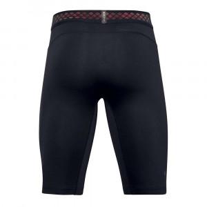 UA Rush HeatGear 2.0 Long Compression Shorts ''Black''