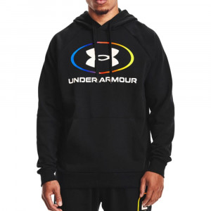 UA Rival Lockertag Fleece Hoodie ''Black''