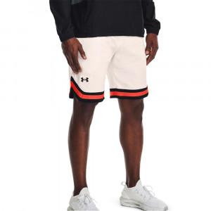UA Rival AMP Crew Fleece Shorts ''Onyx White''