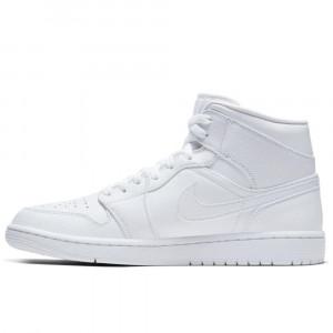 Air Jordan 1 Mid ''Triple White''