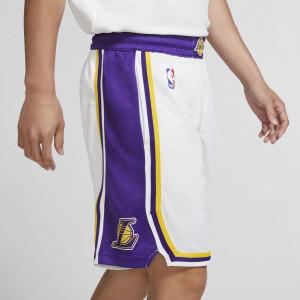 Nike NBA LA Lakers Swingman Shorts ''White/Purple''