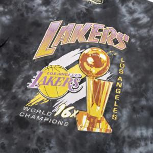 M&N Tie-Dye Champions Los Angeles Lakers T-Shirt ''Black''