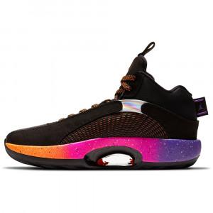 Air Jordan XXXV ''Black/Total Orange-Hyper Grape'' (GS)