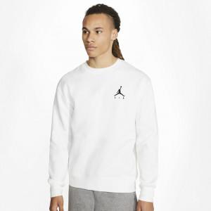 Air Jordan Jumpman Fleece Crew Sweatshirt ''White''