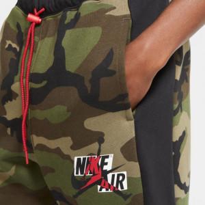 Air Jordan Jumpman Classics Camo Fleece Shorts ''Medium Olive''