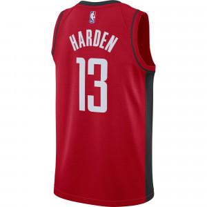 Nike NBA Houston Rockets James Harden Icon Edition 2020 Swingman Jersey ''Red''