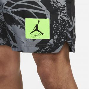 Air Jordan Flight Printed Poolside Shorts ''Black''