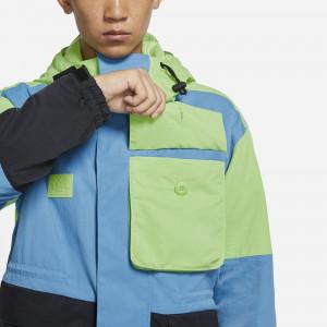 Nike Lebron Premium Utility Jacket ''Key Lime/Black/Dutch Blue''