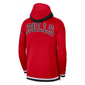 Nike NBA Chicago Bulls Showtime Full-Zip Hoodie ''Red''