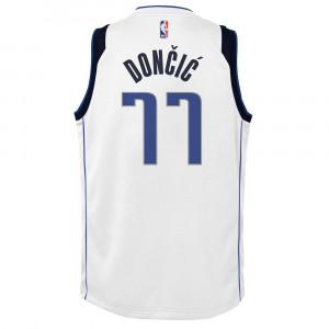 Nike NBA Association Dallas Mavericks Luka Dončić Swingman Jersey ''White''