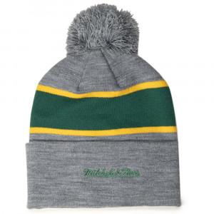 M&N Boston Celtics Team Tone Knit Hat ''Grey''