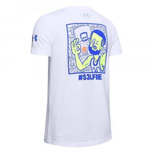 UA SC30 Selfie T-Shirt ''White''