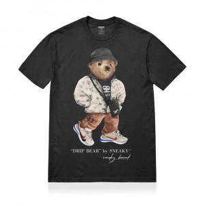 Sneaky Drip Bear T-Shirt ''Black''