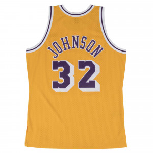M&N NBA Los Angeles Lakers 1984-85 Swingman Jersey ''Magic Johnson''