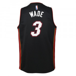 Nike NBA Miami Heat Dwyane Wade Jersey ''Black''