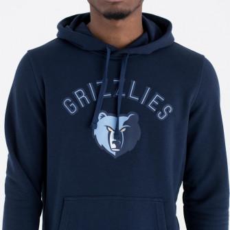 New Era Team Logo Memphis Grizzlies Hoodie ''Navy''
