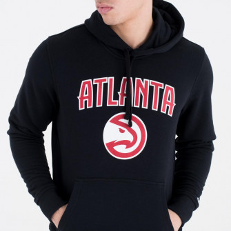 New Era NBA Atlanta Hawks Team Logo Hoodie ''Black''
