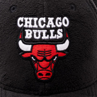 New Era 9Forty Chicago Bulls Fleece Cap ''Black''