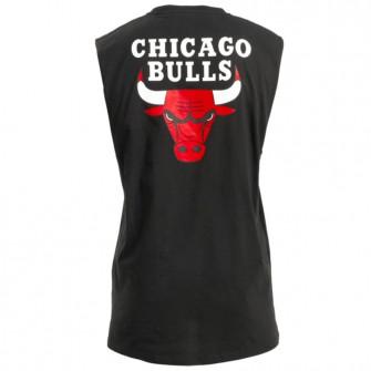 New Era Bold Graphic Chicago Bulls Sleeveless Shirt ''Black''