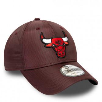 New Era NBA Chicago Bulls Team Ripstop 9FORTY Cap ''Red''