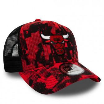 New Era NBA Chicago Bulls Error Print 9FORTY Cap ''Red/Black''
