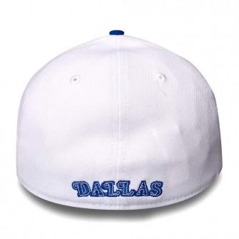 New Era NBA Dallas Mavericks Hardwood Classics Nights 39Thirty Cap ''White/Blue''