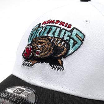 New Era NBA Memphis Grizzlies HWC Nights 39Thirty Cap ''White/Black''