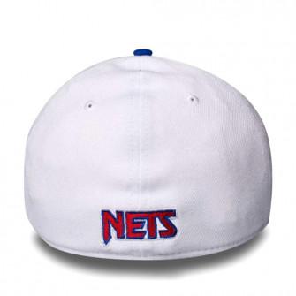 New Era NBA Brooklyn Nets HWC Nights 39THIRTY Cap ''White/Blue''