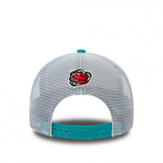 New Era NBA Memphis Grizzlies HWC Nights A-Frame Trucker 9FORTY Cap ''Turquoise''