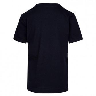 Air Jordan AJ5 Stencil Stack Kids T-Shirt ''Black''