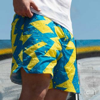 Air Jordan Poolside Shorts ''Laser Blue''