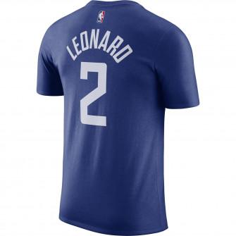 Nike NBA Kawhi Leonard Los Angeles Clippers T-Shirt ''Blue''