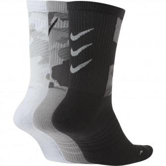 Nike Everyday Max Cushioned Socks ''Black/Grey/White''