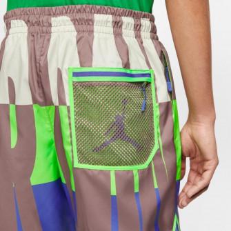 Air Jordan Wings Poolside Shorts ''Green Strike''