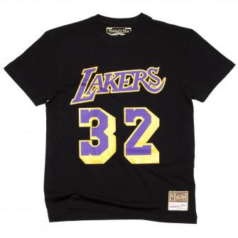 M&N NBA Los Angeles Lakers Magic Johnson HWC Edition T-Shirt ''Black''