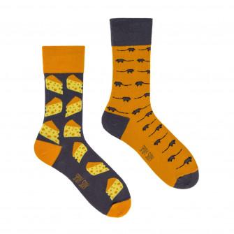 Spox Sox Mouse & Cheese Socks