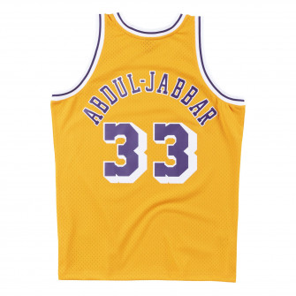 M&N Swingman Los Angeles Lakers 1984-85 Kareem Abdul-Jabbar Jersey ''Yellow''