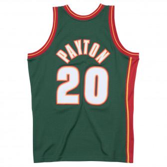 M&N NBA Seattle Supersonics Road 1995-96 Swingman Jersey ''Gary Payton''