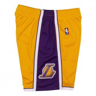 M&N NBA Los Angeles Lakers 2009-10 Swingman Shorts ''Yellow/Purple''
