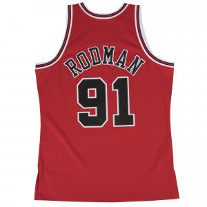 Dres M&N Swingman Jersey Dennis Rodman 91